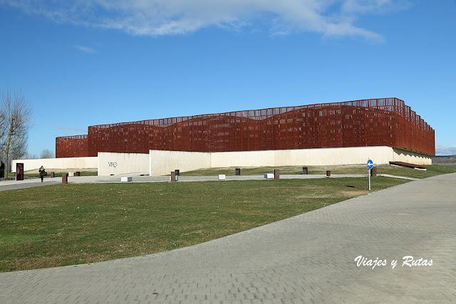 Edificio de la Villa Romana de la Olmeda, Palencia
