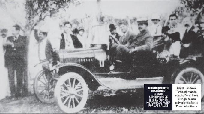 Santa Cruz cumple 100 años de ver el primer automóvil en sus calles