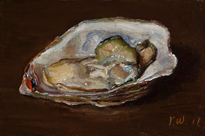 oyster daily painting a day
