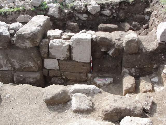 Archaeologists study the changing history of ancient temple complex at Jordan's Khirbat es-Sar