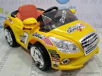 Mobil Mainan Aki PMB M2018 Robby Gordon Yellow L