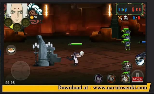 Download Naruto Senki The Last V2 Mod Naruto-War Apk Unlock Kimimaro