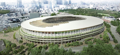 Tokyo Olympic stadium construction work and detail about it