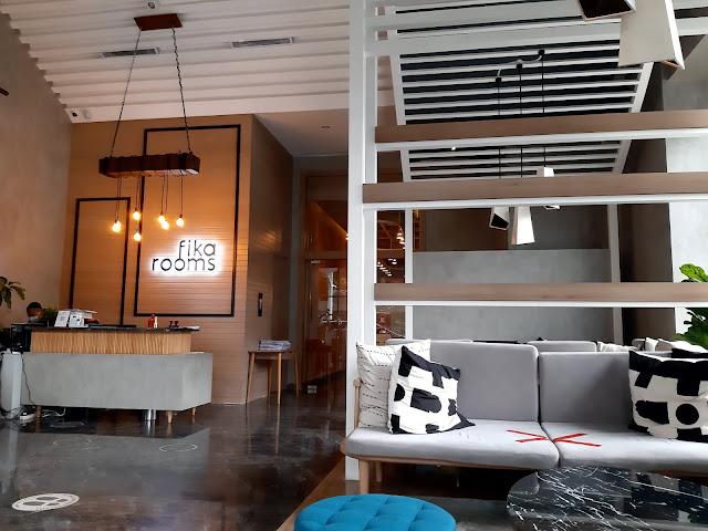 sofa lobby fika rooms