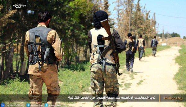 Jaysh al Islam Bunuh Puluhan Tentara Assad di Timur Ghouta