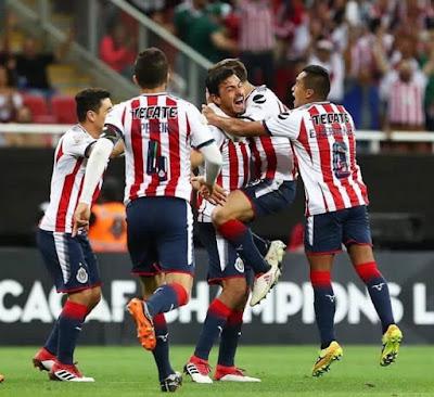 Chivas semifinales liga concacaf