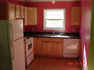 Koleksi Desain Dapur Minimalis Warna Pink