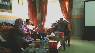 LSM Tegar Sambangi Kejaksaan Negeri Lampung Timur