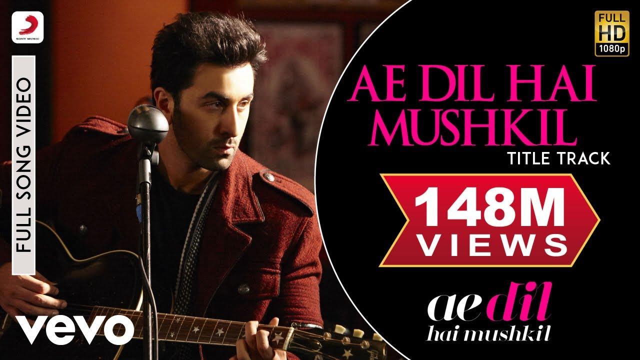 Ae Dil Hai Mushkil Lyrics in Hindi RCR