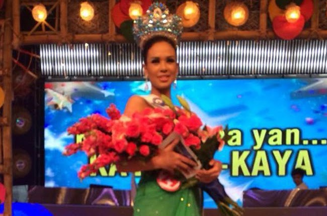 Chatterlie Mae Alcantara Umalos Wins as Gandang Babae 2014 Grand Finals Results