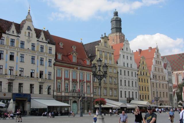 Marktplein of Rynek n Wroclow