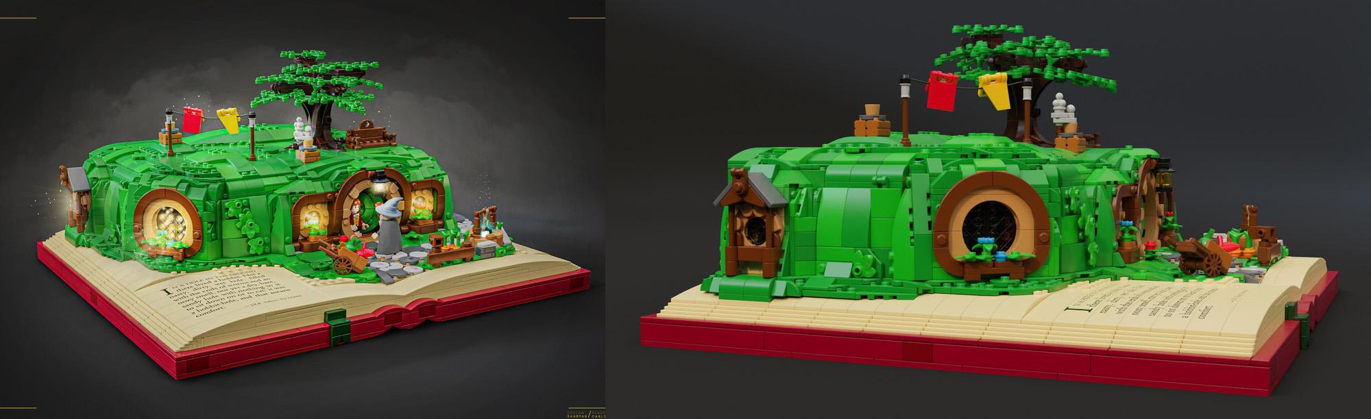 ホビットの袋小路屋敷(Bag End)がレゴ(LEGO)アイデア製品化レビュー進出!2020年第3回1万サポート獲得デザイン紹介