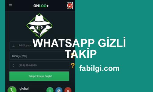 Whatsapp WatzUsage Gizli Takip Etme Uygulaması İndir Apk 2021