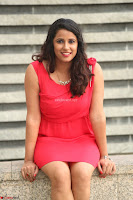 Shravya Reddy in Short Tight Red Dress Spicy Pics ~  Exclusive Pics 054.JPG