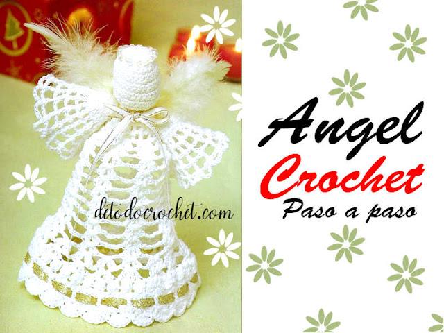 patrones-de-angeles-de-navidad-tejidos-con-ganchillo