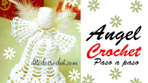 Patrones de Angeles tejidos a Crochet | Paso a paso