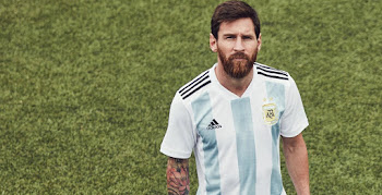 e6f16307bb Argentina 2018 World Cup Home Kit Released
