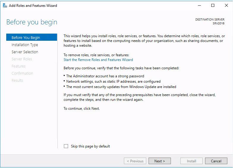 Instalación de Active Directory en Windows Server 2016 - Cesar Herrada