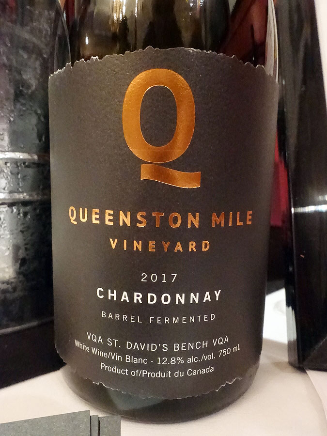 Queenston Mile Vineyard Chardonnay 2017 (90+ pts)