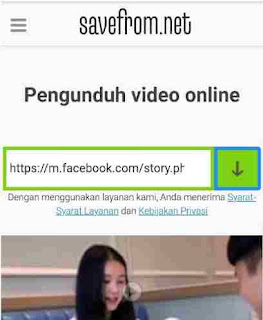 Download video facebook chrome