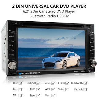 autoradio stereo lettore dvd f6002