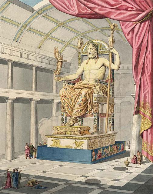 Olympian Zeus in the sculptured antique art of Quatremère de Quincy 1815