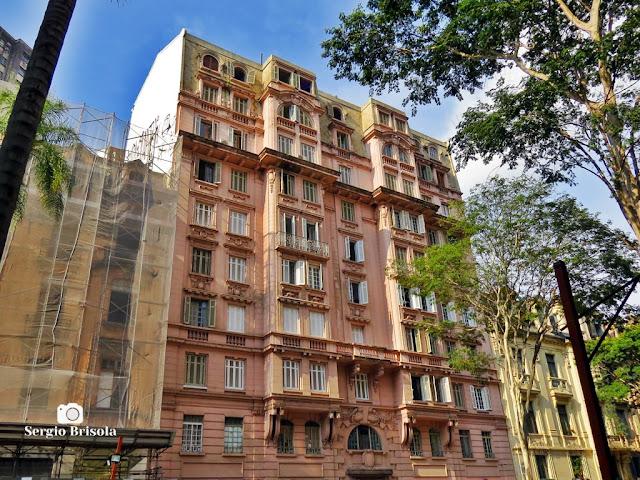 Vista ampla do antigo Prédio Oscar Rodrigues - Centro - São Paulo