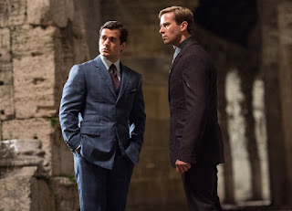 Henry Cavill and Armie Hammer in THE MAN FROM UNCLE, a Review