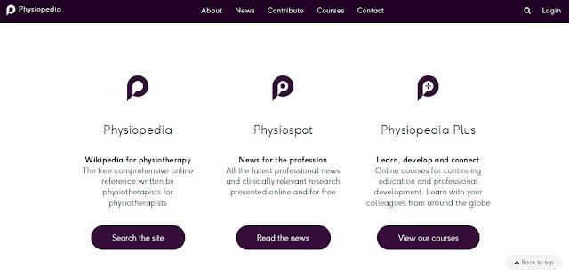 tampilan baru physiopedia