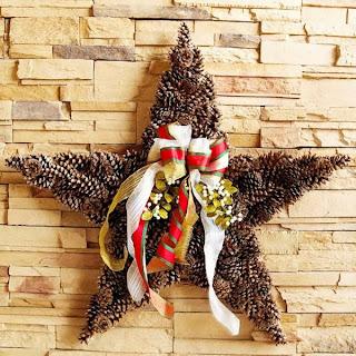 idea corona navideña