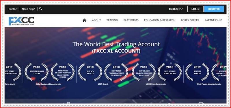 Мошеннический сайт fxcc.com – Отзывы? Компания FXCC  мошенники! Информация