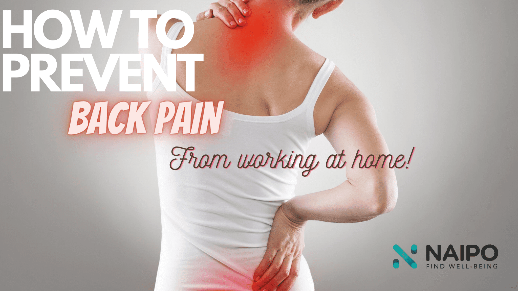 How To Prevent Back Pain While Working At Home By Barbies Beauty Bits