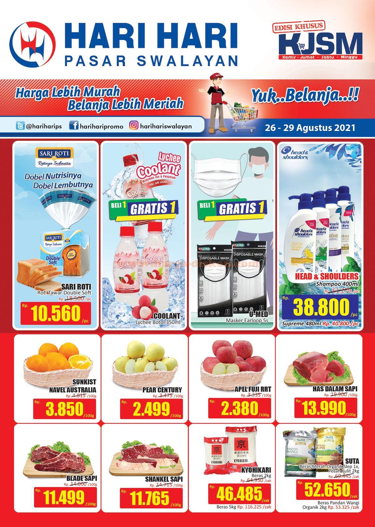 Promo HARI HARI Akhir Pekan Weekend Promo KJSM 26 - 29 Agustus 2021
