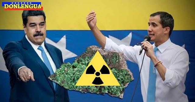 Juan Guaidó acusó a Maduro de contrabandear Uranio hacia Israel