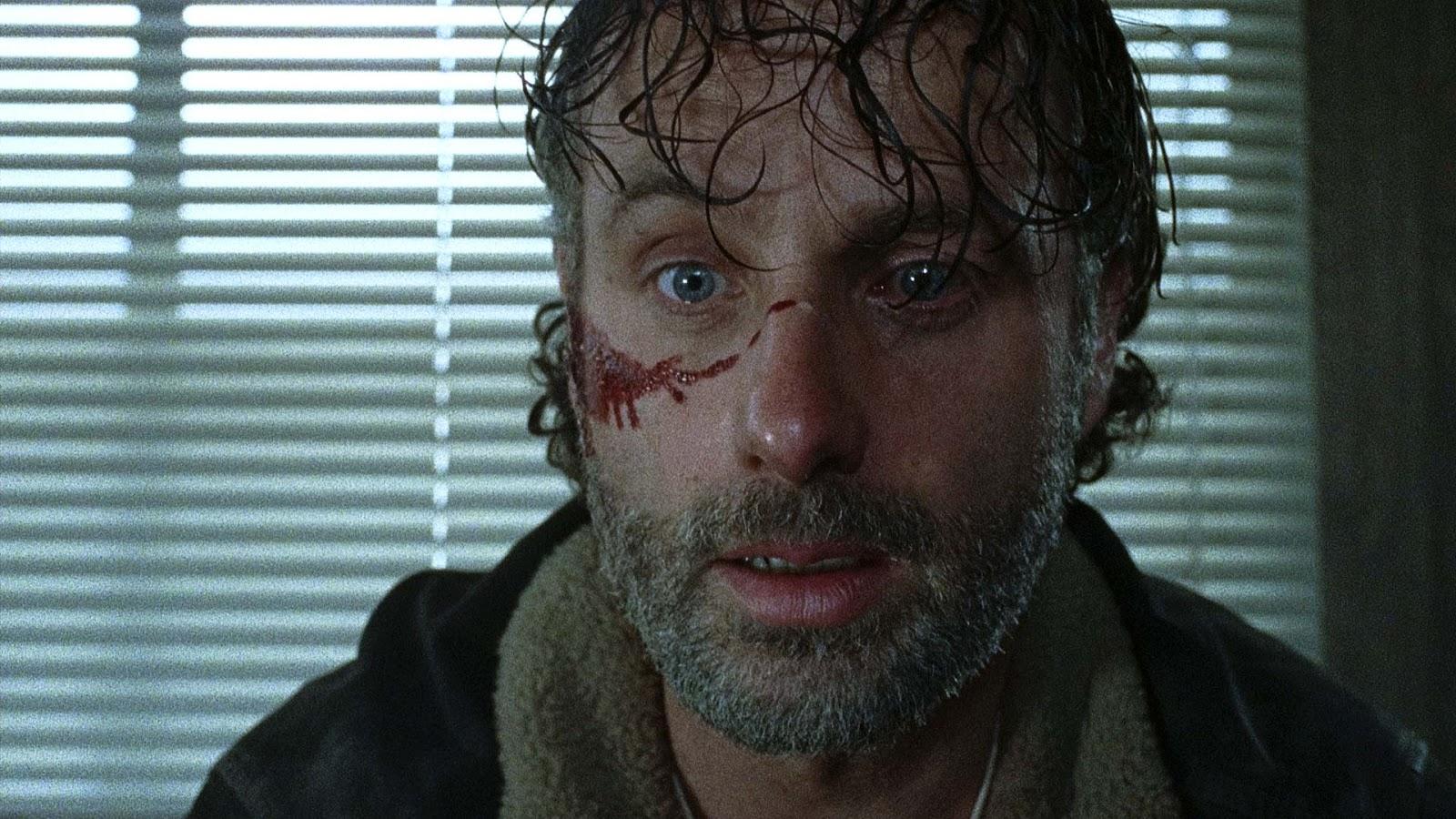 """Produtor de The Walking Dead diz que Rick está pronto para """"sofrer qualquer perda"""" para acabar com Negan"""