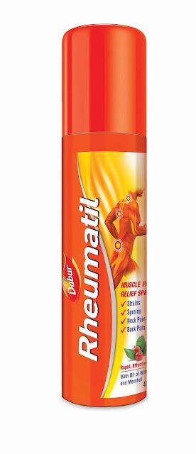 Dabur enters Pain Relief Spray market with Ayurvedic 'Dabur Rheumatil Spray'