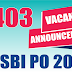 SBI PO 2017 Notification OUT : More than 2400 Vacancies
