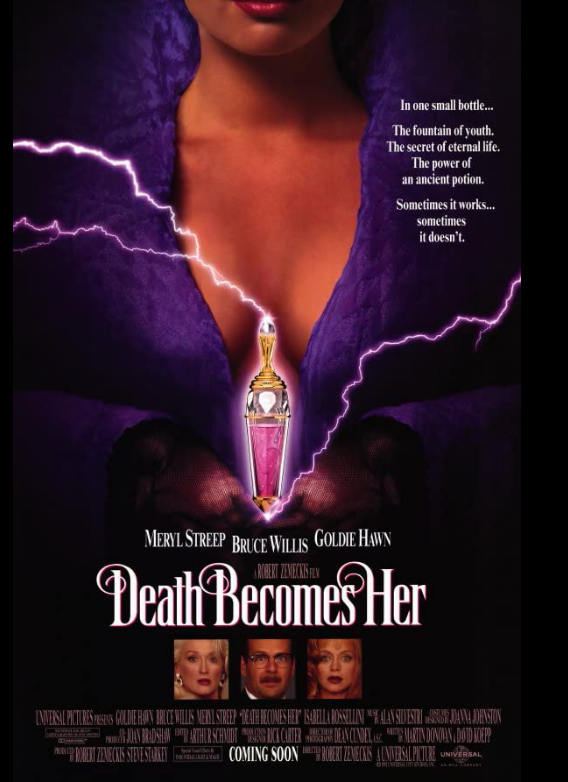 Death Becomes Her 1992 CE x264 720p Esub BluRay Dual Audio English Hindi GOPI SAHI