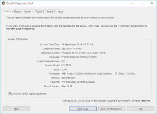 cara mengecek spesifikasi laptop