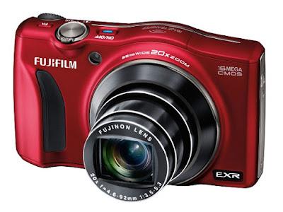 Fujifilm F800EXR FinePixカメラファームウェアのダウンロード