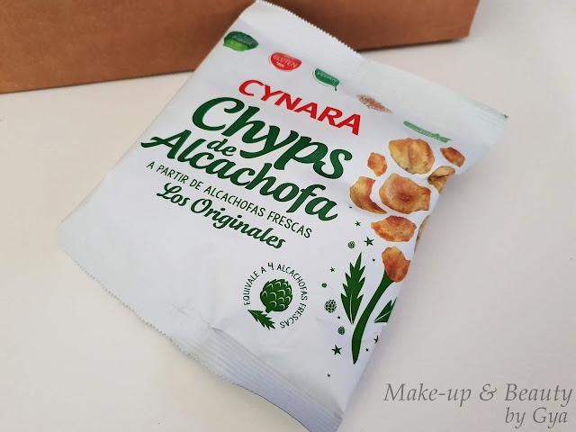 Chips de Alcachofa Cynara Degustabox Diciembre ´18