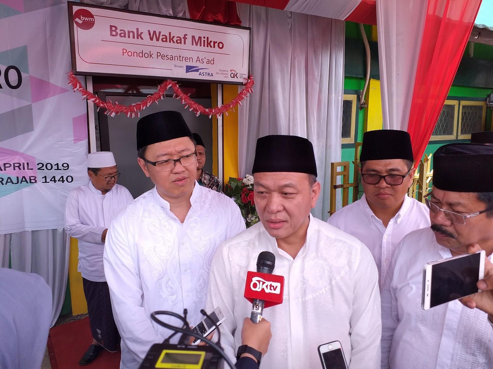 PT Astra Internasional Tbk Persembahkan Bank Wakaf Mikro Ketiga Di Jambi