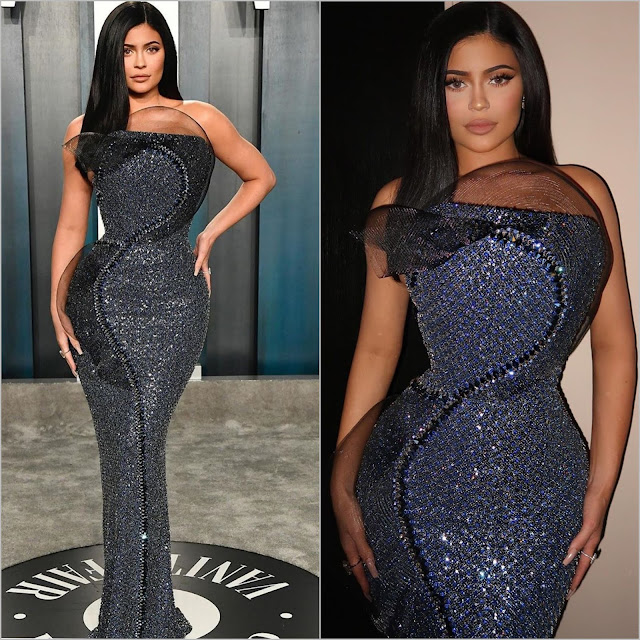 Kylie Jenner in Ralph Russo