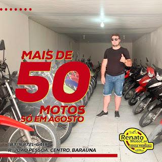 Venda Premiada entregou mais de 50 motos no mês de agosto de 2019