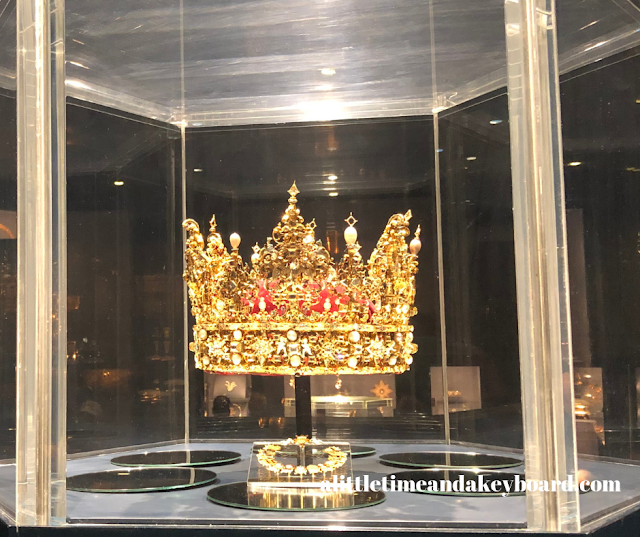 The crown of King Christian IV of Denmark.