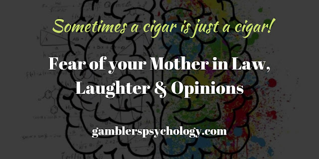 Fear of your Mother in Law, Laughter & Opinions