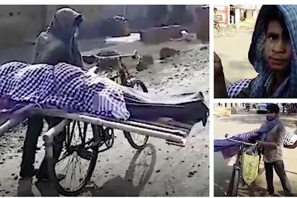 Tetangga Tak Sudi Bantu Makamkan Orang Tuanya, Bocah 17 Tahun Terpaksa Angkut Jasad Ibunya Pakai Sepeda Butut, Tak Ada yang Peduli Meski Tertatih di Jalanan Sepanjang 5 Kilometer