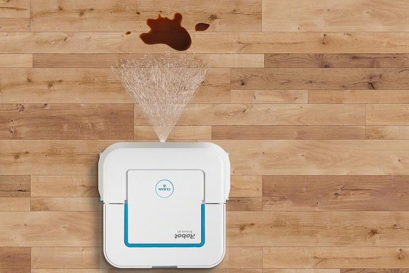 El Robot friegasuelos de iRobot® Braava jet™ 240