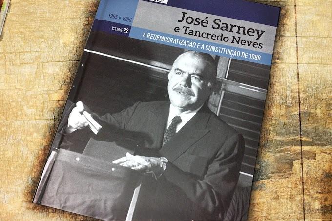 [RESENHA #741] COLEÇÃO FOLHA A REPÚBLICA BRASILEIRA 130 ANOS - VOL. 22: JOSÉ SARNEY E TANCREDO NEVES