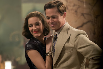 Marion Cotillard and Brad Pit in Allied